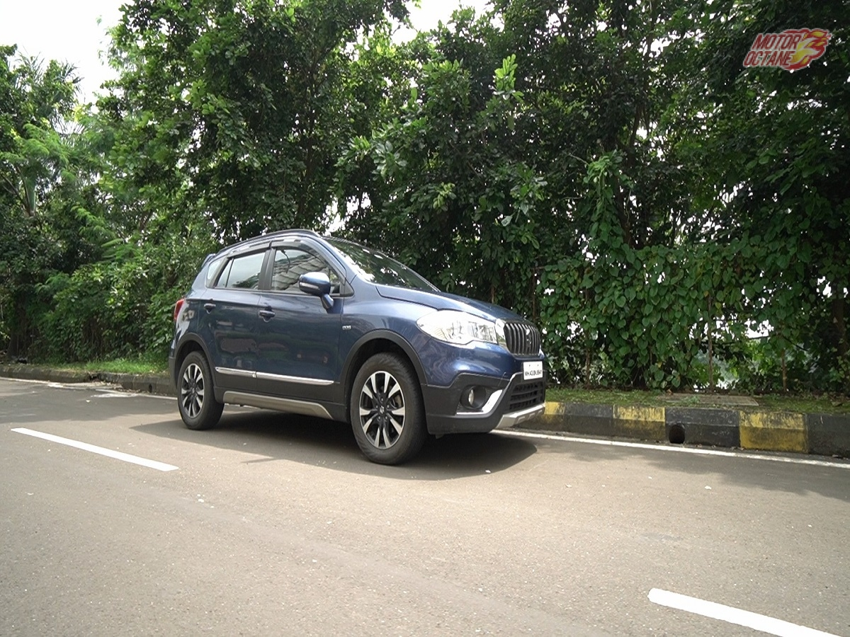 kicks side Maruti S-Cross review