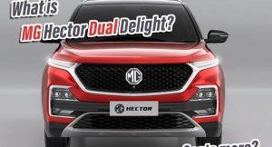 MG Hector Dual Tone