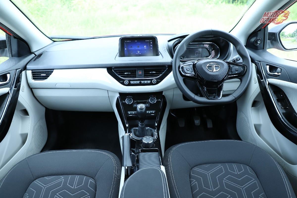 nexon interior best sub-compact SUV