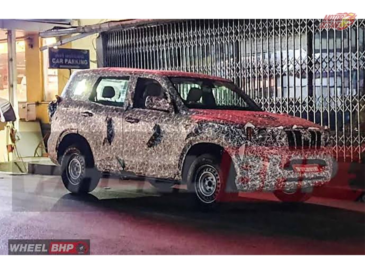 Jeep 526 K8 Images Leaked