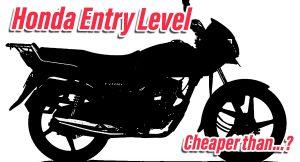 Honda Entry level bike