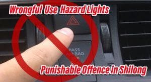 Hazard light wrong