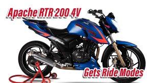 New Apache RTR 200 4V