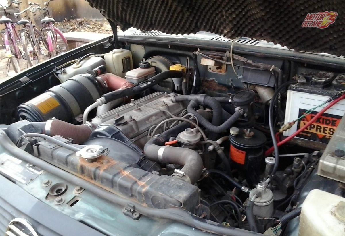 Tata Sierra Old engine