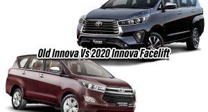 2020 Innova facelift