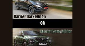 Harrier Camo vs Dark