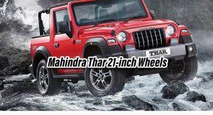 Mahindra Thar 21-inch Wheels