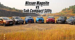 Nissan Magnite vs competition