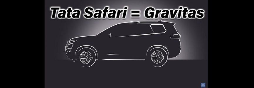 2021 tata Safari