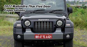 2022 Mahindra Thar five door