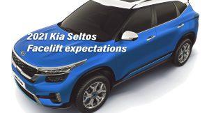 2021 Kia Seltos facelift
