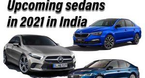Upcoming Sedans