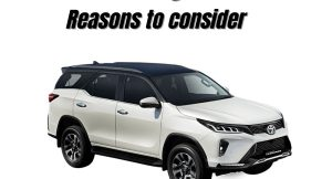 Fortuner Legender Reasons to consider