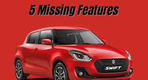 Maruti Swift 5 Missing Features