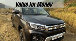 Vitara Brezza Base Model Value for Money