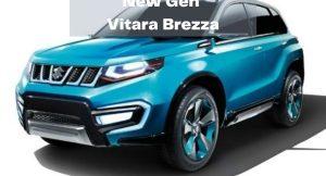 new generation Maruti vitara brezza