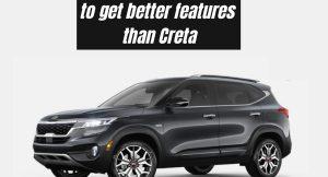 Kia Seltos facelift to get better features than Hyundai Creta
