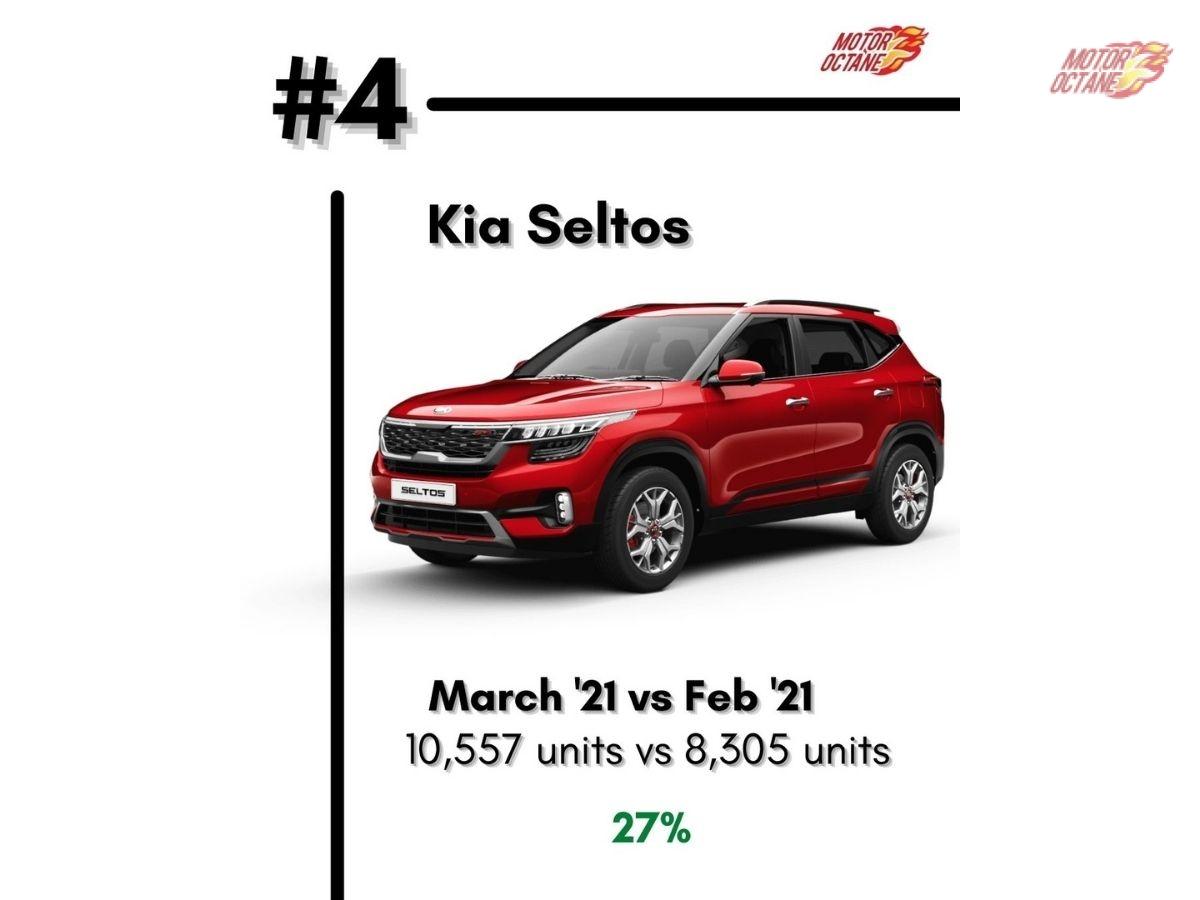 top 5 SUVs to buy in April