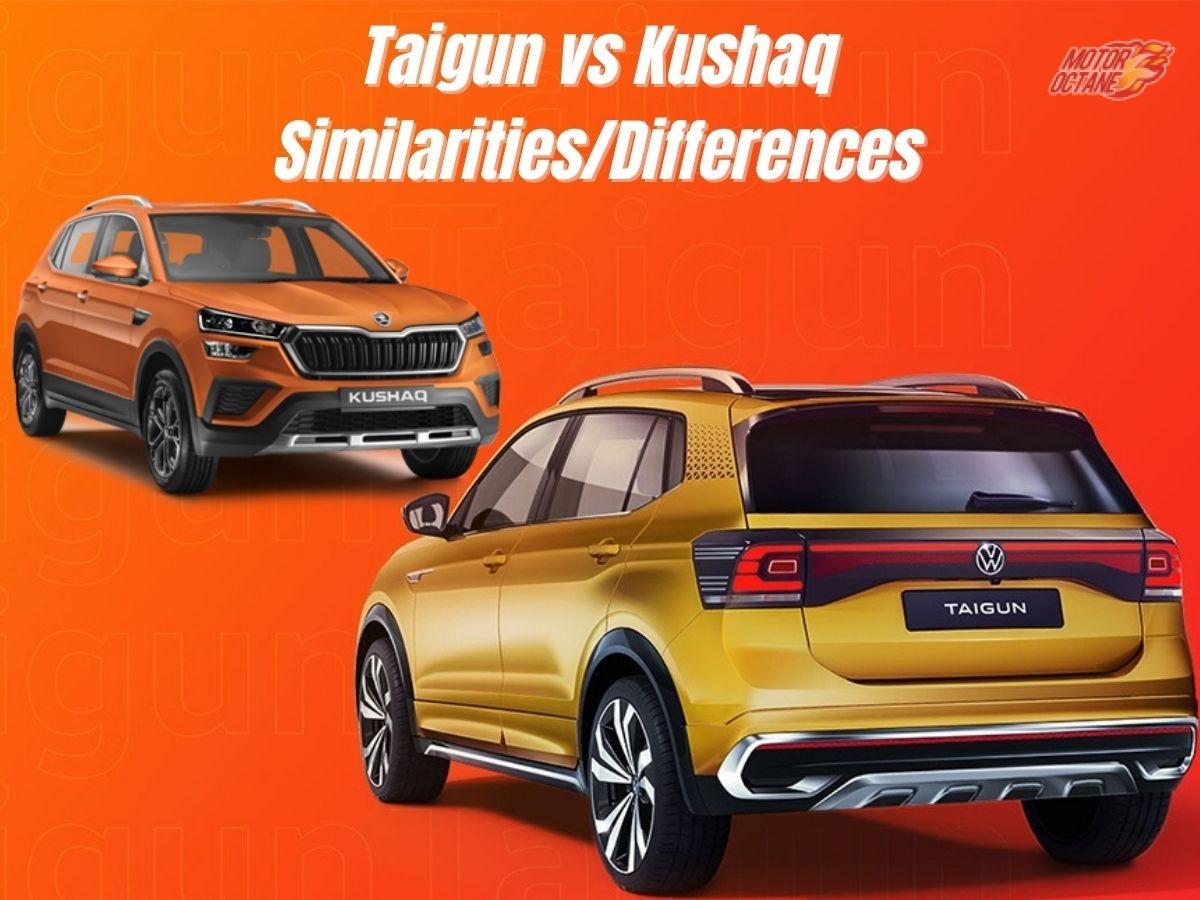 What could Volkswagen Taigun share with Skoda Kushaq