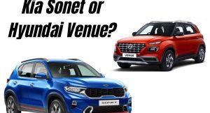 Is Kia Sonet a better buy than Hyundai Venue?