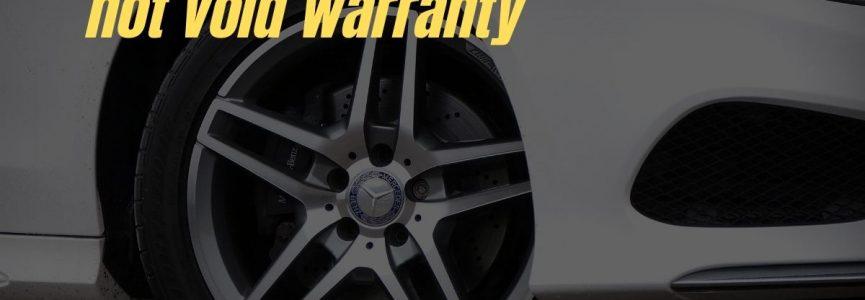 Aftermarket accessories that do not void warranty