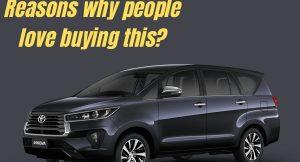 5 reasons why people buy Toyota Innova