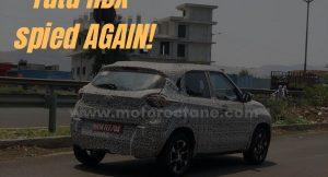 Production-ready Tata HBX spied again!