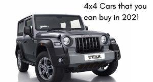4x4 cars
