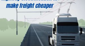 e-Highways Highway electrification to make freight cheaper