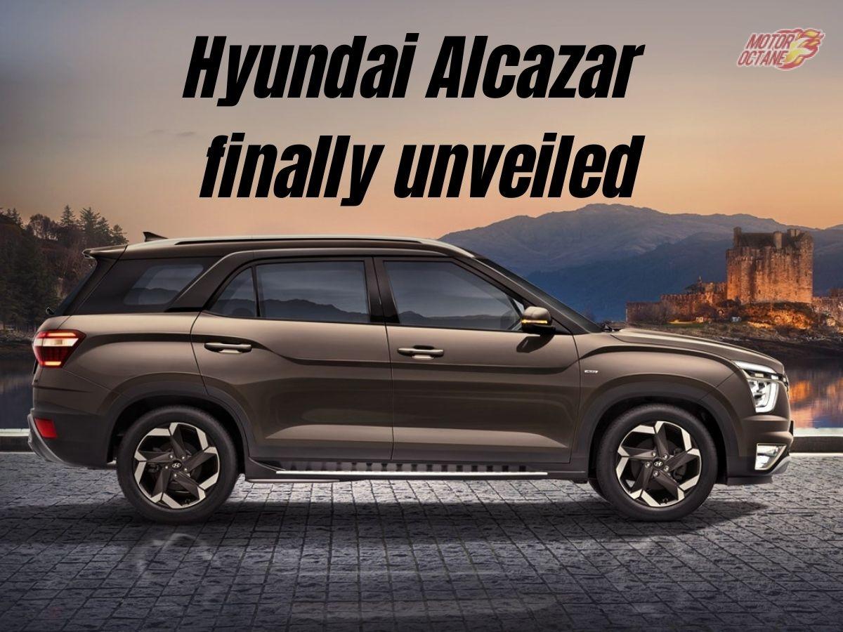 Hyundai Alcazar unveiled - Know all the details here!