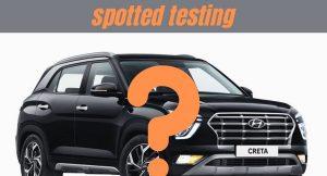 Hyundai Creta competition spotted testing
