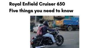 Royal Enfield Cruiser 650