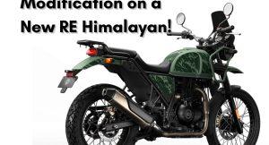 Royal Enfield Himalayan modifications