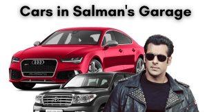 salman khan's garage