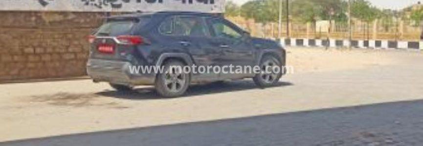 Toyota Rav4 spotted