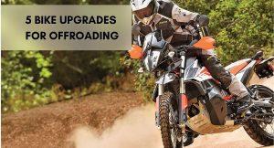 offroad bike upgrades