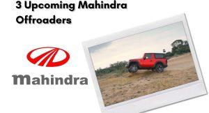 Mahindra offoraders