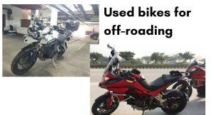 used adventure bikes