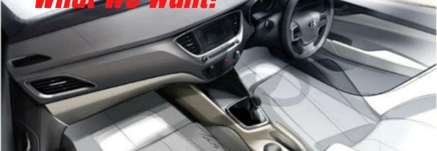 2022 Hyundai Verna - What do we want?