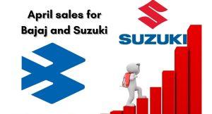 suzuki and Bajaj Sales