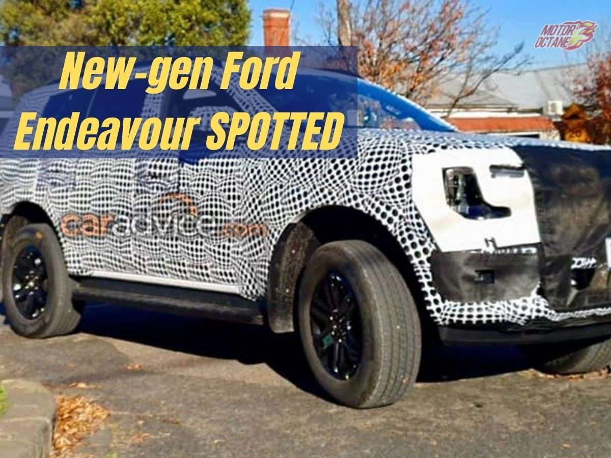 New generation Ford Endeavour SPOTTED
