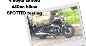 Royal Enfield 650cc bikes