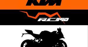 new KTM RC 390