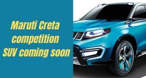 Upcoming Maruti Creta competition SUV coming soon