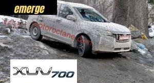 Mahindra XUV700 new details