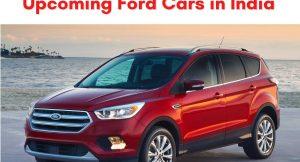 Upcoming Ford Cars