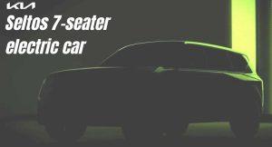 Kia Seltos 7-seater electric car