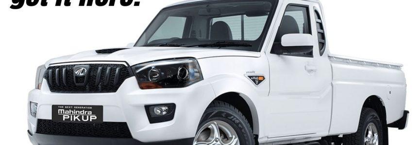 Mahindra Scorpio pickup truck