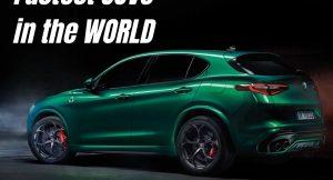 Fastest SUVs in the world