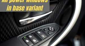 5 cars with all power windows in base variant